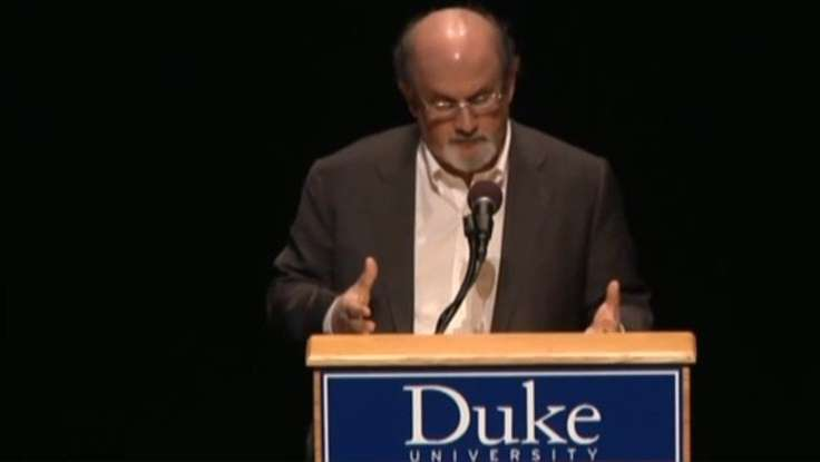 Salman Rushdie: Writers Are More Vulnerable Than Ideas [VIDEO]